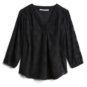 Collective Concepts Tony Textured Blouse